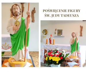 Poświęciliśmy figurę św. Judy Tadeusza. MODLITWA DO ŚW. JUDY TADEUSZA W CIĘŻKIM STRAPIENIU